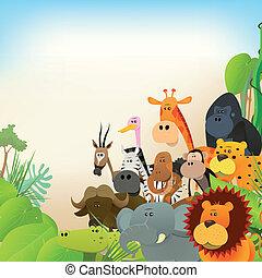 tierwelt, tiere, hintergrund