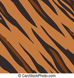 Tigerhaut nahtloses Fliesentiermuster