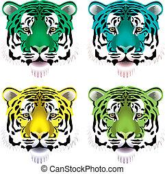 Tigerköpfe