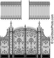 Tor und Zaun