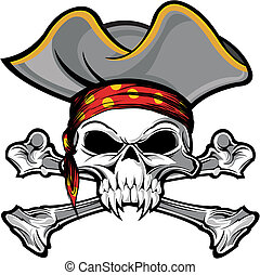 totenschädel, pirat