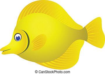 Tropischer Cartoon-Fisch