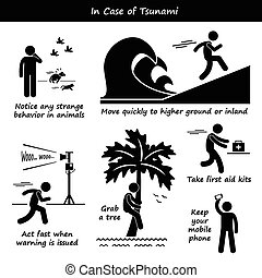 tsunami, reisekoffer