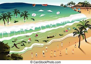 tsunami, szene