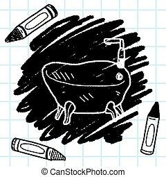 Tube doodle.