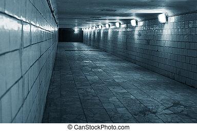 Tunnel in einer Stadt