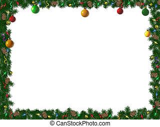 umrandungen, weihnachten