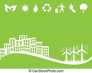 Umwelt- und Umweltzeichen