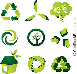 Umweltdesign-Elemente