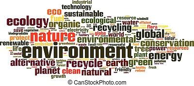 Umweltwortwolke