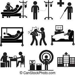 Untersuchungsmedizin im Krankenhaus.