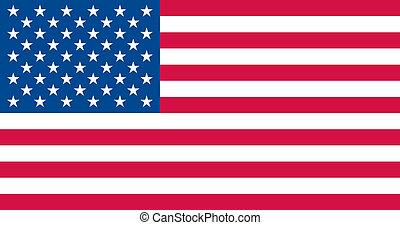 USA-Flagge.