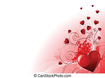 Valentinstags-Hintergrund