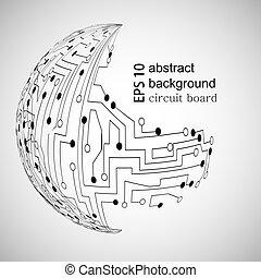 Vector abstrakter Hintergrund. Eps10