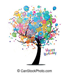 Vector, alles Gute zum Geburtstag