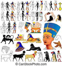 Vector alter Ägypter.