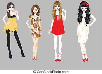 Vector Girls