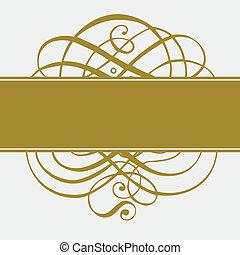 Vector Goldschmuck und Muster