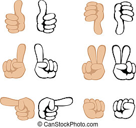 Vector Handbewegungen