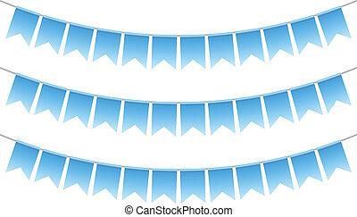 Vector Illustration von Blaubrötchen
