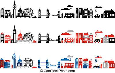 Vector illustriert London City
