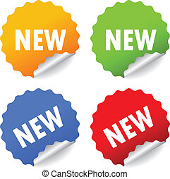 Vector, neue Sticker