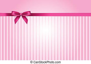 Vector Pink Hintergrund mit Bogen