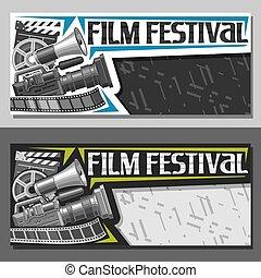Vector Tickets für das Filmfestival.