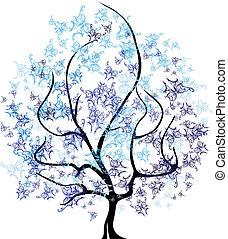 Vector - vier Jahreszeiten Baum.