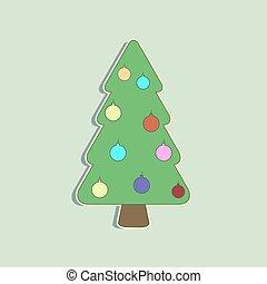 Vector Weihnachtsbaum