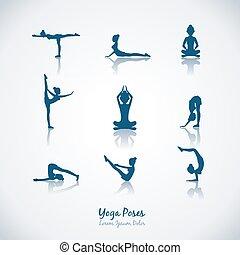 Vector Yoga Posen
