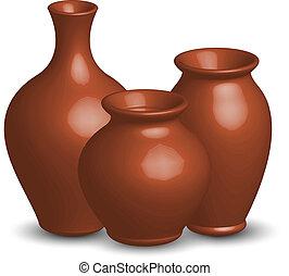 Vektor Illustration von Vasen