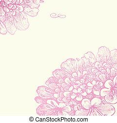 Vektor-Pink-Foralquadrat