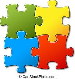 Vektor-Puzzle-Hintergrund deaktivieren