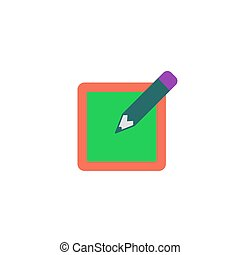 vektor, zeichen, auf, ikone