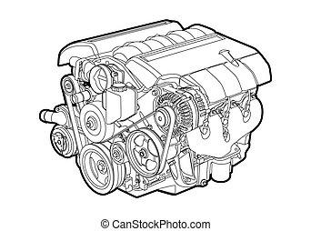 Vektormotor