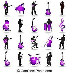 Vektormusikelemente