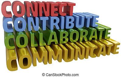 Verbundene Kommunikation trägt dazu bei