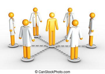 vernetzung, healthcare