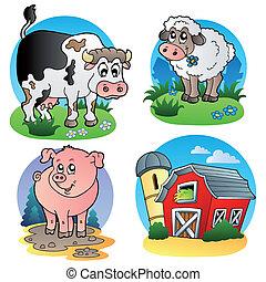 Verschiedene Nutztiere 1