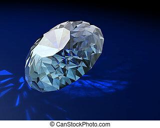 verzierung, brilliants, prächtig, geschenk, diamanten