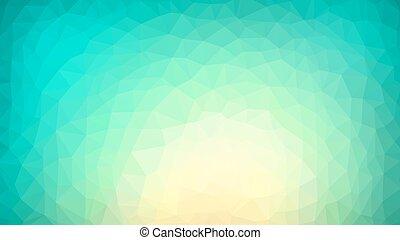 Vibrant polygonaler Hintergrund