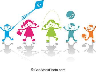Viel Spaß beim Kinderspielen