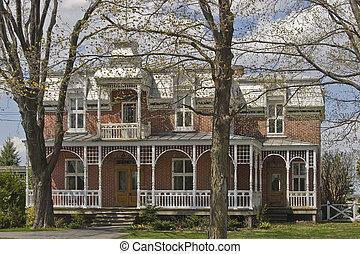 Viktorianisches Haus.
