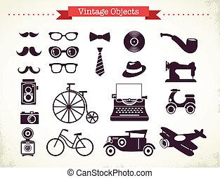 Vintage-Hipster-Sammlung