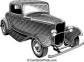 Vintage-Muskel-Wagen