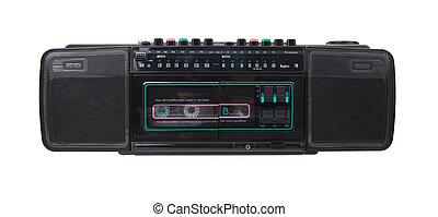 Vintage Radio Kassettenrekorder.