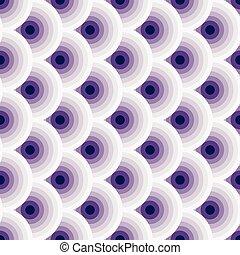 Vintage violet-weiß nahtlos Muster.