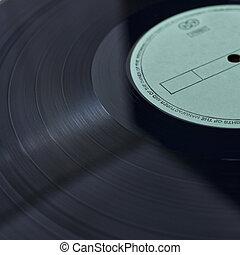Vinyl Platte.