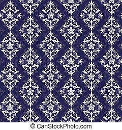 Violet und weißes nahtloses Muster